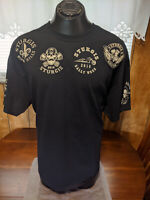 2016 Sturgis T Shirt Black 76 Th Rally Week Skull wings 2 XL