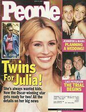 Julia Roberts, Jennifer Lopez, Laci Peterson, Jake Gyllenhaal  06/14/2004 People