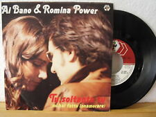 "7"" Single - AL BANO & ROMINA POWER - Tu Soltanto Tu - Vinyl in Near Mint! - 1982"