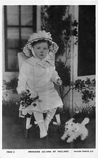 POSTCARD    ROYALTY   NETHERLANDS   Juliana  as  a  Young  Child