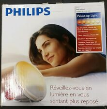 Philips HF3520 Wake-Up Light With Colored Sunrise Simulation, White *Open Box*