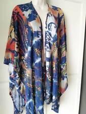 SOFT SURROUNDINGS Pacific Sun Topper/ Kimono Wrap-NEW- One Size