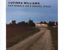 CD LUCINDA WILLIAMS Car wheels on a gravel road  1998 EX+
