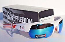 UNDER ARMOUR Big Shot Sunglasses Freedom Red/White/Blue Multi USA $105 LTD ED