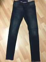 Mens Diesel SLEENKER STRETCH Denim 0842Q DARK BLUE Slim W30 L34 H6 RRP£150