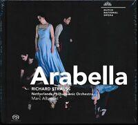 Strauss Arabella CD NEW Netherlands Philharmpnic Marc Albrecht Jacquelyn Wagner