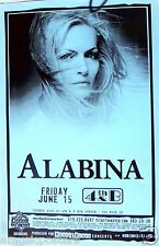ISHTAR ALABINA 2001 SAN DIEGO CONCERT POSTER-World Music, Middle Eastern, Arabic