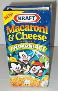 ANIMANIACS 1995 KRAFT MACARONI & CHEESE BOX PINKY & THE BRAIN Warner Bros