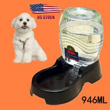 Pet Dog Cat Rabbit Automatic Water Dispenser 1000Ml Drink Food Dish Bowl Feeders