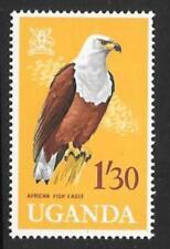 UGANDA SG122 1965 1s50 BIRD DEFINITIVE  MNH
