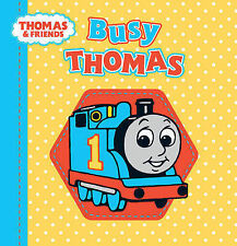NEW - MY THOMAS TANK ENGINE CLOTH BOOK - BUSY THOMAS