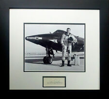 Joe Engle with the X-15 - w/ Autograph of Test Pilot Joe Engle