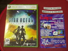 STAR OCEAN THE LAST HOPE XBOX 360 PAL ITA NUOVO SIGILLATO