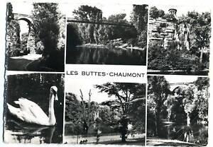 75 PARIS  les buttes chaumont 1960 (2)