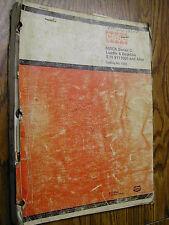 Case 680 CK SERIES C PARTS MANUAL BOOK CATALOG TRACTOR LOADER BACKHOE 1222 12-72