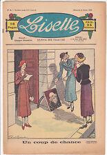 LISETTE N°6 du 9 février 1936 LEVESQUE CUVILLIER PORTELETTE