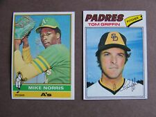 1976 1977 Topps baseball 50 cards EXMT-NM PICK CHOOSE NEW NUMBERS ADDED!!!