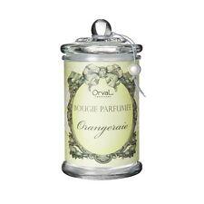 Duftkerze im Glas, hochwertig, Orange Orangeraie, Orval