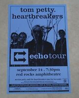 Tom Petty Heartbreakers 1999 Concert Poster Bill Graham Red Rocks CO Echo Tour