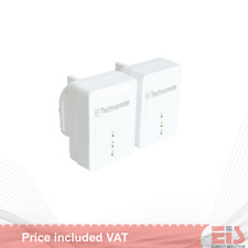 Technomate TM-600 HP 600 Mbps HomePlug AV2 Powerline Adapter