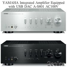 YAMAHA Integrated Amplifier Equipped with USB DAC A-S801 AC100V