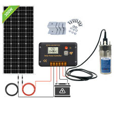 Solar Pump System Kits :Submersible Steel Solar Bore Water Pump+300W Solar Panel