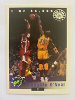 1992 Classic Draft Picks Top Ten Pick #LP1 SHAQUILLE O'NEAL RC  /56000    QTY.