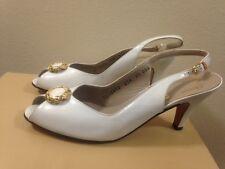 Salvatore Ferragamo Open Toe Sling Back Sandals Size 8.5
