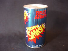 Old Vtg STEEL Beat Army Orange Soda Can 12oz Army Smash Annapolis MD USA