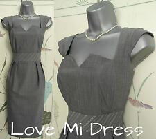 Principles - Gorgeous Fitted 50's Style Secretary Dress Sz 14 EU42