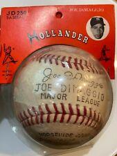 Vintage 1950's Hollander Joe DiMaggio Major League Baseball - New Old Stock
