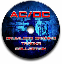 AC/DC STYLE ROCK METAL DRUMLESS MP3 BACKING TRACKS REHEARSAL DRUMS JAM TRAX
