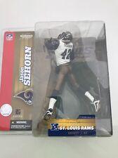 2003 MCFARLANE NFL SERIES 7 NIB JASON SEHORN WHITE JERSEYTAN PANTS CHASE RAMS