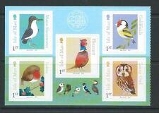 Francobolli inglesi sul uccelli