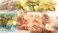 Paket Portugal 111 Euro 2002 bfr. 1 Cent bis 2 Euro Münzen in 8 Original Beutel