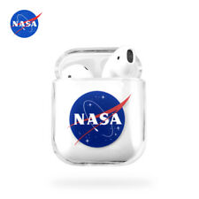 Nasa space Transparent Rigid Plastic Case For Apple AirPods 1st & 2nd generation