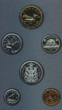 Canada 1991 Specimen Set 6 Coins RCM UNC Rare 25 Cents Quarter Low Mintage