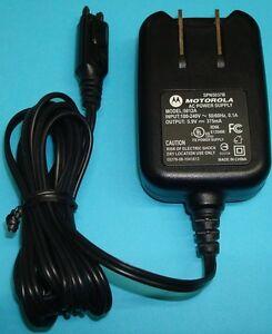 🔌 Original Motorola i85 V60 V300 V600 AC Wall Charger Adapter 5012A/SPN5037B