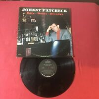Johnny Paycheck ‎– Bars - Booze - Blondes  SP-10979 *Vinyl EX copy