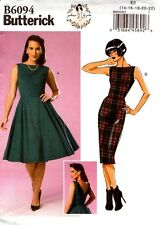 Butterick Sewing Pattern B6094 6094 Misses Dress 14-22