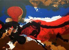 """Josep GUINOVART - """"Sans-titre I"""" - 1974 - Lithographie originale signée"""