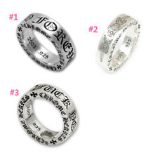Authentic [Chrome Hearts] 6mm Ring - Forever / Dagger / F*ck You (*Choose one)