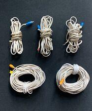 FULL SET BOSE 5.1 ACOUSTIMASS LIFESTYLE 10 15 18 28 48 V SYSTEM SPEAKER CABLES