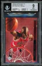 Michael Jordan Card 1993-94 Upper Deck SE Behind Glass #G11 BGS 9 (9 9 9.5 9)