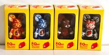 """Qee - Jaime Hayon - 2.5"""" - Set of 4 - Toy2r - Kidrobot art lau"""