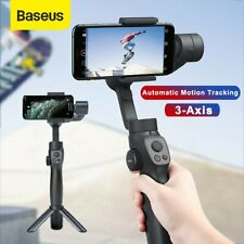 Baseus 3-Axis Gimbal Stabilizer Smartphone Live Vlogging Kit for iPhone Samsung