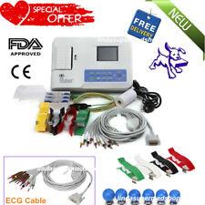 CONTEC Digital 3Channel 12 lead ECG/EKG Machine,Thermal Printer,Software CE FDA