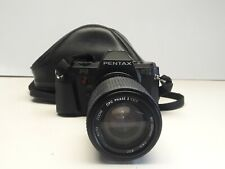 pentax p3 35mm SLR Film Camera #3141585 with cpc phase 2 80-200mm lens K mount
