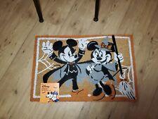 "Disney Minnie & Mickey Mouse  Halloween Decoration Outdoor Mat Rug 18"" x 28"" New"