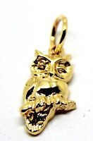 KAEDESIGNS,Genuine 9ct Yellow or Rose / White Gold or Silver OWL charm / Pendant